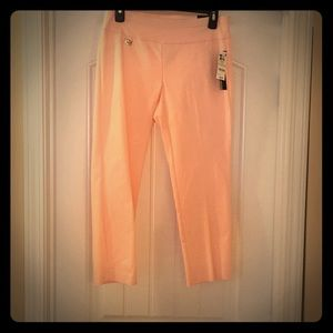 Baby pink capris just in time for spring!